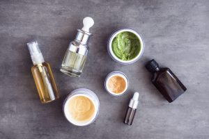 Bottles,And,Jars,With,Natural,Skincare,Cosmetics,,Creams,And,Oils